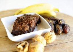 gezonde brownies banana bambu