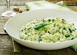 Risotto met spinazie