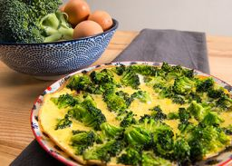 Recept omelet met broccoli