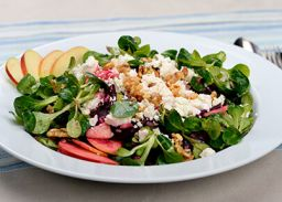 Recept salad going walnuts
