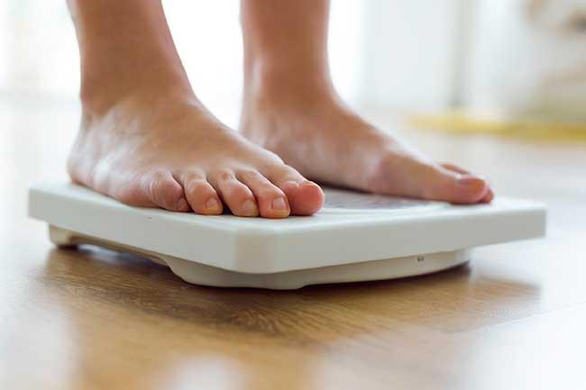 menopauze symptomen gewichtstoename