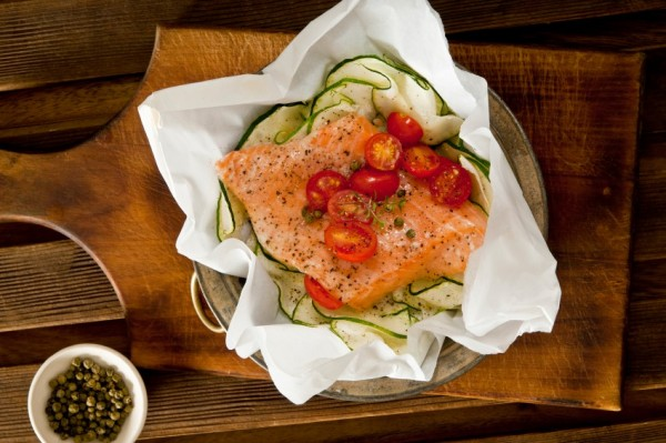 Barbecuerecepten: zalm in papillot