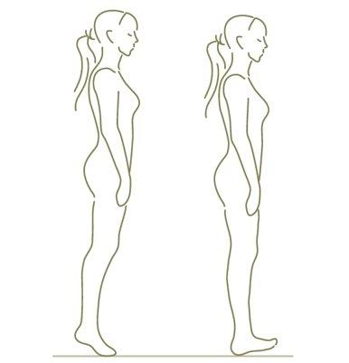 Zware benen - staande oefening