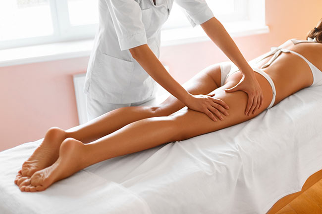Cellulite - massage