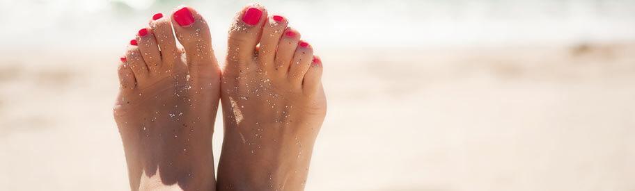 last van gezwollen voeten door het warme weer? zo raak je ervan verlost!
