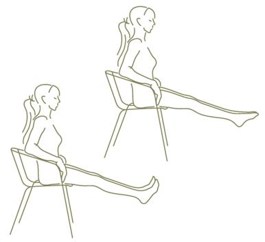 benen oefening